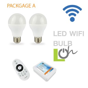 หลอดไฟ LED wifi Bulb 2.4G 6w PACK A