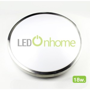 LED Dome Panel Aluminium 18w.