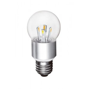 E27 5730 6L 3w Ball Classic lens A - Dimmable