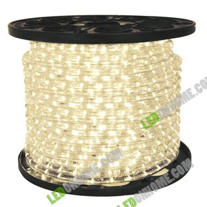 LED Rope Light 36 leds แบบกลม 3 wires Warm White
