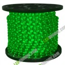 LED Rope Light 36 leds แบบกลม 3 wires Green
