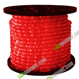 LED Rope Light 36 leds แบบกลม 2 wires Red