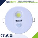 Motion Sensor LED CL Round 7w