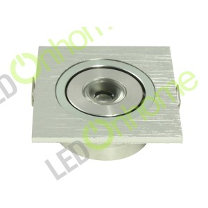 Ceiling light Square Shape 1w 1.5cm | CLS 1.5Cm Square 1w SILVER
