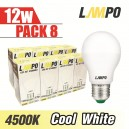 LED E27 STARBULB 12W PACK 8