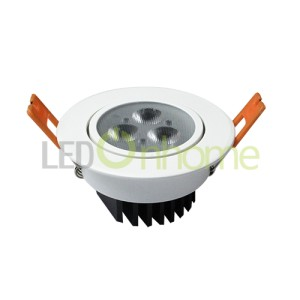 LED Ceiling light MSH len 3w. | Ceiling Light MSH3030 Round 3w