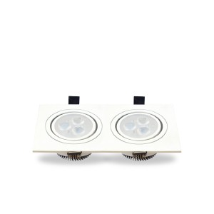 LED Ceiling light MSH len 2x3w.